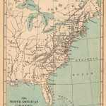 America de Nord 1775 150x150 Harti geografice si istorice vechi