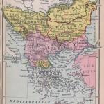 Balcani 1912 150x150 Harti geografice si istorice vechi