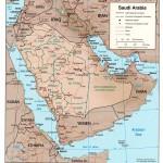 Harta Arabiei Saudite