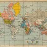Harta Lumii 1910 150x150 Harti geografice si istorice vechi