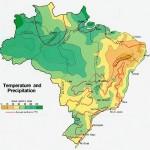 Harta climatica a Braziliei