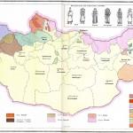 Harta etnica a Mongoliei