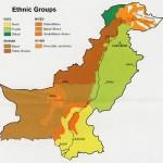 Harta etnica a Pakistanului