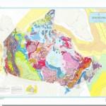 Harta geologica a Canadei