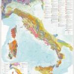 Harta geologica a Italiei