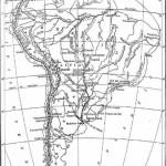 Harta hidrografica a Americii de S