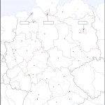 Blind Map of Germany
