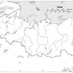 Blind Map of Russia