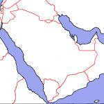 Harta oarba a peninsulei Arabia