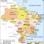 Harta politica a Braziliei