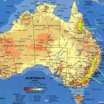 Harta populatiei Australia