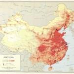 Harta populatiei Chinei