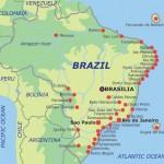 Harta portuara a Braziliei