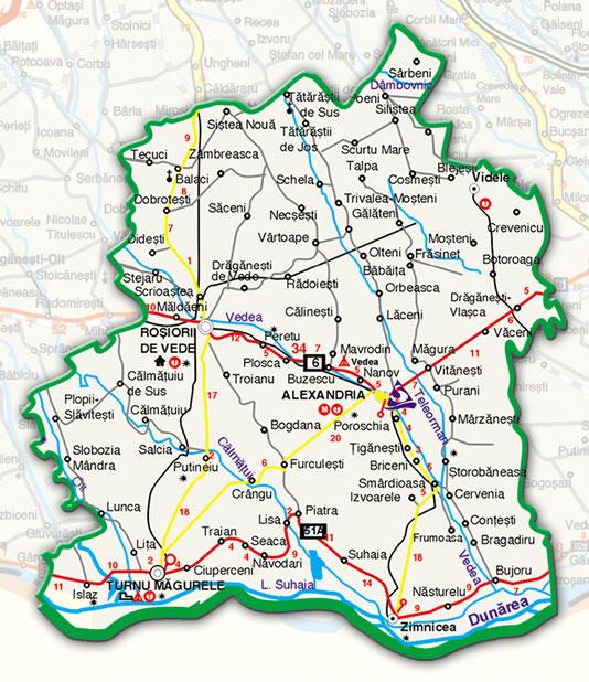 Harta Rutiera Archives Profu De Geogra