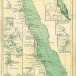 Marea Rosie 1850 150x150 Harti geografice si istorice vechi