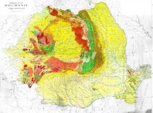 Romania-Harta-geologica