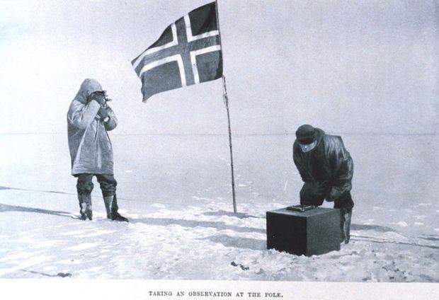 Amundsen la Polul Sud