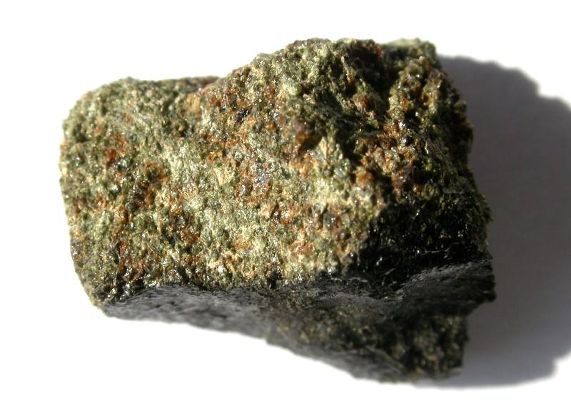 Fragment din meteoritul Nakhla