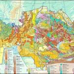 Harta gelolgica a Kazakhstanului
