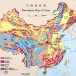 Harta geologica a Chinei