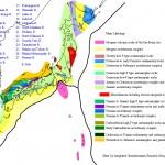 Harta litologica a Japoniei