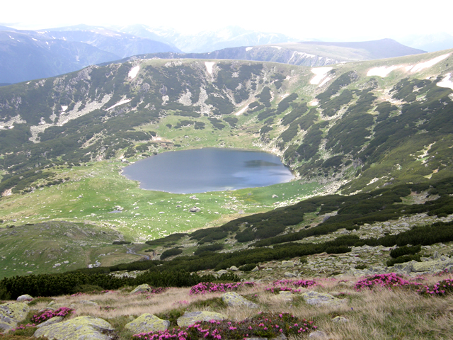 Lacul Zanoaga (Retezat)