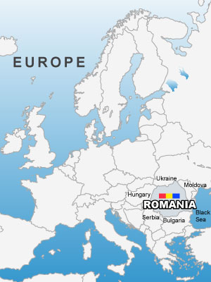 Images And Places Pictures And Info Romania Map Europe