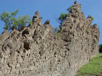 Zidurile Uriasilor (rezervatia Reghiu)