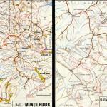 Harta Muntilor Bihor (Carpatii Occidentali)