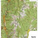 Harta Turistica a Muntilor Baiului- Garbova 2 (Carpatii Orientali)