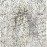 Harta turistica a Muntilor Bucegi 1