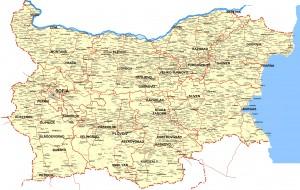 Harta rutiera a Bulgariei1