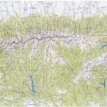 Harta Muntilor Fagaras
