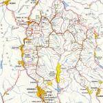Harta Turistica a Muntilor Baiului- Garbova