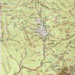 Harta turistica a Muntilor Giurgeu 2
