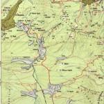 Harta turistica a Muntilor Giurgeu 3