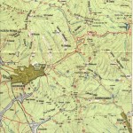 Harta turistica a Muntilor Giurgeu 6