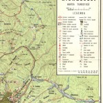 Harta turistica a Muntilor Giurgeu 1