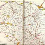 Harta turistica a Muntilor Gurghiu 1