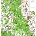 Harta turistica a Muntilor Harghita 1