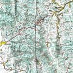 Harta turistica a Muntilor Hasmasu Mare