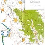 Harta turistica a muntilor Macin