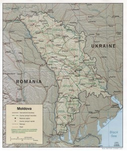 Harta rutiera a Moldovei
