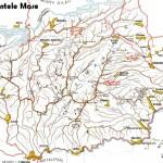 Harta Turistica a regiunii Muntele Mare(Carpatii Occidentali)