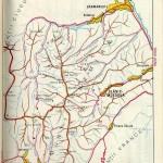 Harta turistica a Muntilor Nemira 2