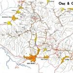 Harta turistica a Muntilor Oas 1