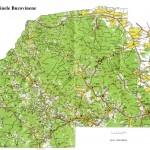 Harta turistica a Obcinelor Bucovinei 1