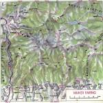 Harta Turistica Muntilor Parang (Carpatii Meridionali) 7
