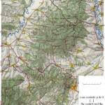 Harta turistica a Muntilor Persani