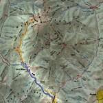 Harta turistica a Masivului Penteleu